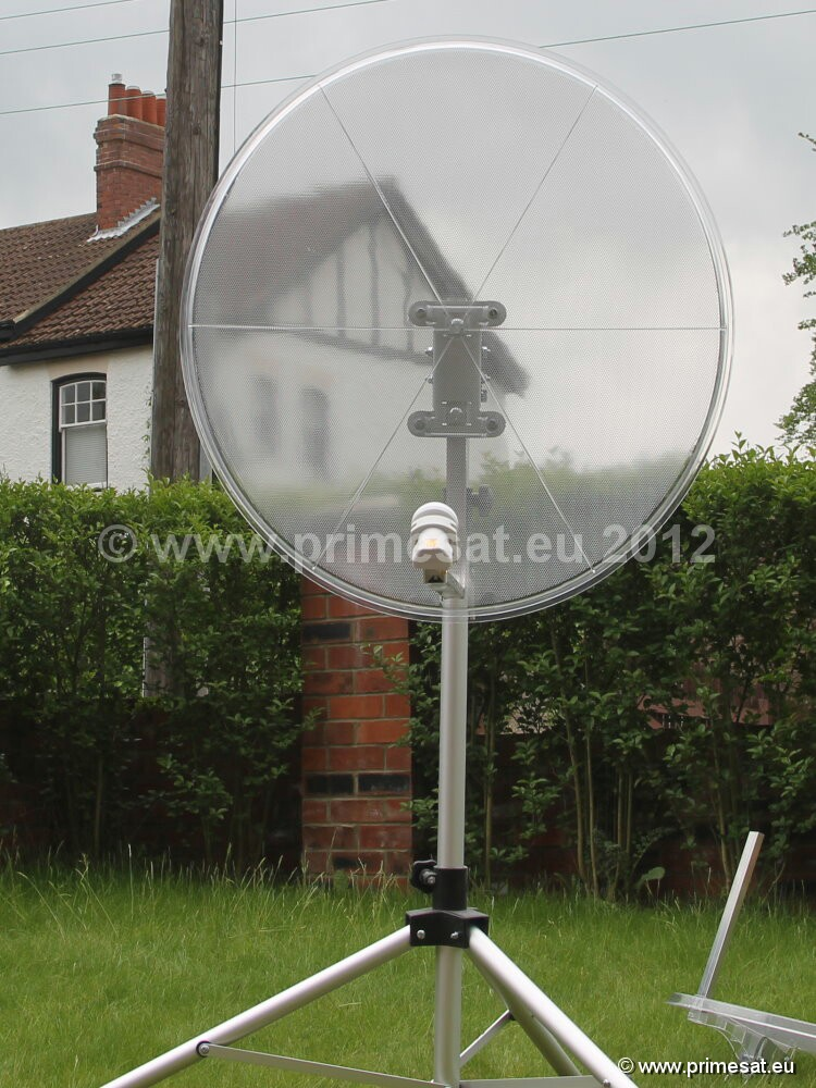 Primesat Clear Transparent Satellite Dishes 85cm
