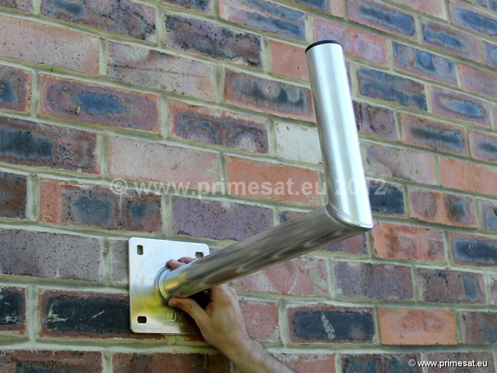 Satellite Dish Wall Mounts And Ground Stands Budget And