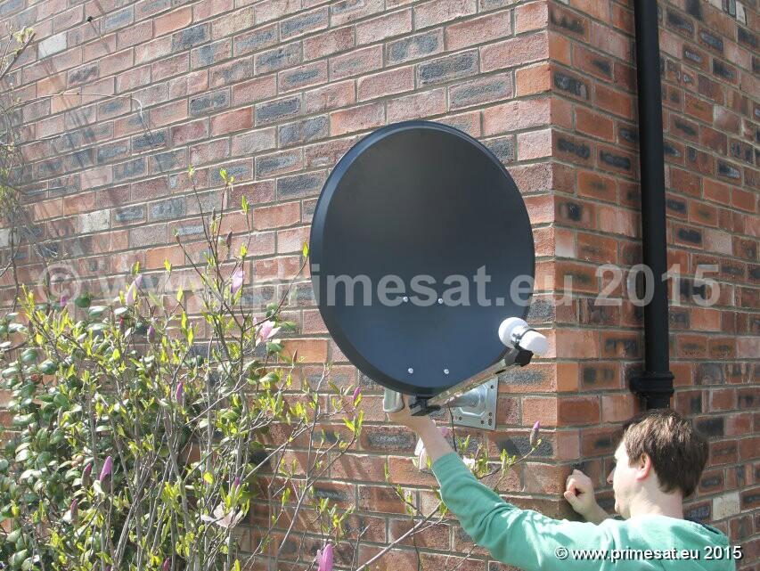 Primesat Clear Transparent Satellite Dishes 60cm