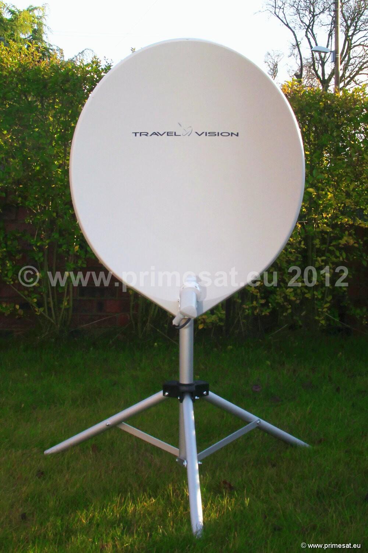 Self Seeking Satellite Dish Domes Tracvision R4 Domes Caravan Motorhome Mobile Automatic